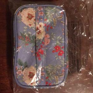 Floral makeup case